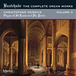 Buxtehude: The Complete Organ Works, Vol 3 (CD)