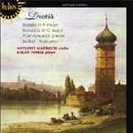 Produktbilde for Dvorak: Music For Violin And Piano (CD)