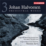 Halvorsen: Orchestral Works Vol 3 (CD)
