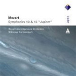 Mozart: Symphonies Nos 40 and 41 (CD)