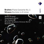 Brahms: Piano Concerto No 1; Strauss, R: Burleske (CD)