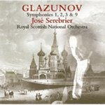 Glazunov: Symphonies Nos 1-3 and 9 (CD)