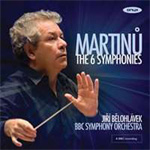 Martinu: The 6 Symphonies (3CD)