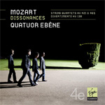 Mozart: String Quartets - Dissonances KV465, Divertimento KV138, String Quartets KV421 (CD)