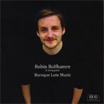 Robin Rolfhamre - Baroque Lute Music (CD)