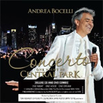 Andrea Bocelli - Concerto: One Night In Central Park Deluxe Edition (m/DVD) (CD)