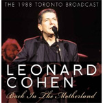 Back In The Motherland - The 1988 Toronto Broadcast (CD)