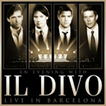 An Evening With Il Divo: Live In Barcelona (m/DVD) (CD)