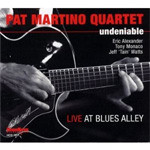 Undeniable - Live At Blues Alley (CD)