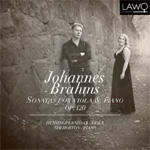 Brahms: Sonatas For Viola & Piano (CD)