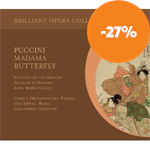 Produktbilde for Puccini: Madama Butterfly (2CD)
