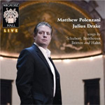 Matthew Polenzani - Songs by Schubert, Beethoven, Britten and Hahn (CD)