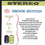Songs I Love To Sing (CD)