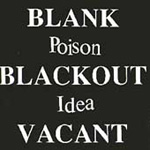 Blank Blackout Vacant (CD)