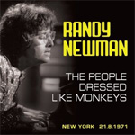 Produktbilde for The People Dressed Like Monkeys, New York 21.8.1971 (CD)