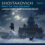Shostakovich: Music For Viola & Piano (CD)