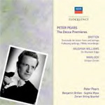 Peter Pears - The Decca Premieres (CD)