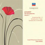 Produktbilde for Schubert: The Sypmhonies Vol.1 Nos. 1-4 & 8 (Unfinished) (USA-import) (2CD)