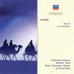 Produktbilde for Handel: Messiah / Acis And Galatea (4CD)