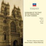 Evensong For The Feast Of Saint Edward (CD)