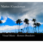 Produktbilde for Marius Noss Gundersen - Visual Music - Retrato Brasileiro (CD)