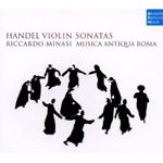 Produktbilde for Händel: Violin Sonatas (USA-import) (CD)