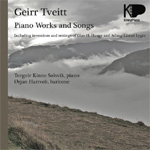 Tveitt: Piano Works And Songs (CD)