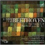 Beethoven: Triple Concerto Op.56 / Piano Trio In C Minor Op.1 No.3 (CD)