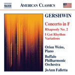 Gershwin: Concerto In F / Rhapsody No 2 / I Got Rhythm Variations (CD)