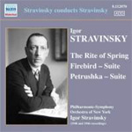 Stravinsky Conducts Stravinsky - The Rite Of Spring / Firebird (Suite) / Petrushka (Suite) (CD)