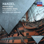 Händel: Water Music / Fireworks Music (CD)
