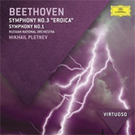 Beethoven: Symphonies Nos. 1 & 3 - Eroica (CD)
