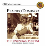 Placido Domingo - The Unknown Puccini Songs (CD)