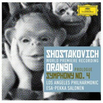 Shostakovich: Prologue to Orango - Symphony No. 4 (2CD)