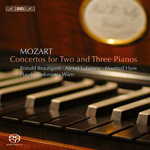 Mozart: Concertos for Two and Three Pianos (CD)