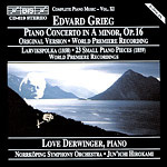 Grieg: Piano Concerto in A minor, Op.16 (CD)
