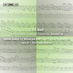 C.P.E. Bach: Keyboard Concertos, Vol.16 (CD)