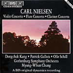 Nielsen: Three Concertos (CD)