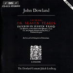 Dowland: Lacrimae, or seaven teares (CD)