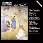 Mozart: Complete Music for Solo Flute and Orchestra (CD)
