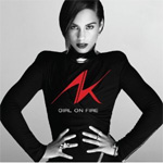 Girl On Fire (CD)