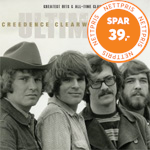 Produktbilde for Ultimate Creedence Clearwater Revival: Greatest Hits & All-Time Classics (3CD)