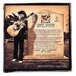 Songs Of A Free Born Man: Jimmy Martin - Recordings 1959-1992 (CD)