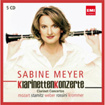 Produktbilde for Sabine Meyer - Klarinettenkonzerte Limited Edition (5CD)