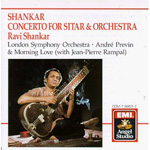Concerto For Sitar & Orchestra (CD)