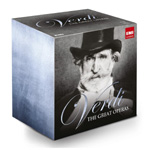 Produktbilde for Verdi: The Great Operas - Limited Edition (UK-import) (35CD)