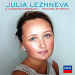 Julia Lezhneva - Alleluia: Motets By Vivavldi, Händel, Porpora And Mozart (CD)