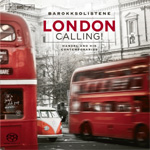 Barokksolistene - London Calling! (CD)