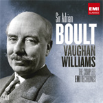 Produktbilde for Sir Adrian Boult - Vaughn Williams: The Complete EMI Recordings - Limited Edition (UK-import) (13CD)