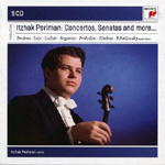 Itzhak Perlman - Plays Concertos And Sonatas (9CD)